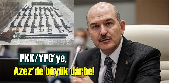 Türk Silahlı Kuvvetleri PKK/YPG'ye, Azez'de büyük darbe Vurdu!