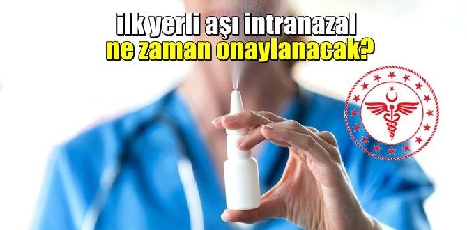 Bulaşı engelleyebilecek Intranazal Nedir? Yerli aşı Intranazal'e yapılan önemli açıklama!