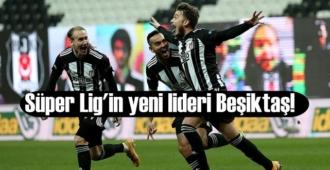 Süper Lig'in 29. haftasında yeni lider belli oldu! Beşiktaş