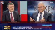 Kayseri BBB. Dr.Memduh Büyükkılıç Başkent Kulisi'nde peş peşe müjdeler verdi!