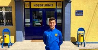 16 yaşındaki genç oyuncu Arda Özkan Süper Lige transfer oldu