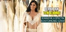 Berna Tan yeni klibinde Jennifer Lopez'in kostümünü giydi!
