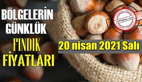 20 nisan 2021 Salı Türkiye günlük Fındık fiyatları, Fındık bugüne nasıl başladı