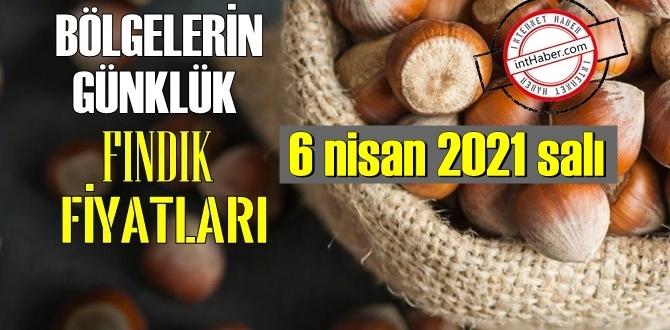 6 nisan 2021 salı Türkiye günlük Fındık fiyatları, Fındık bugüne nasıl başladı