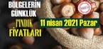 11 nisan 2021 Pazar Türkiye günlük Fındık fiyatları, Fındık bugüne nasıl başladı