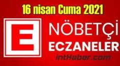 16 nisan Cuma 2021 Nöbetçi Eczane nerede, size en yakın Eczaneler listesi