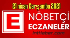 21 nisan Çarşamba 2021 Nöbetçi Eczane nerede, size en yakın Eczaneler listesi