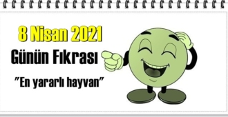 Günün Komik Fıkrası – En yararlı hayvan/ 8 Nisan 2021