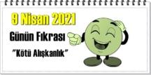 Günün Komik Fıkrası – Kötü Alışkanlık/ 9 Nisan 2021