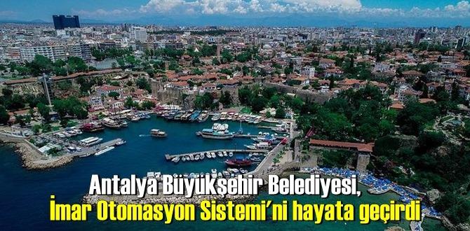 Antalya'da imar planları için yeni uygulama başladı