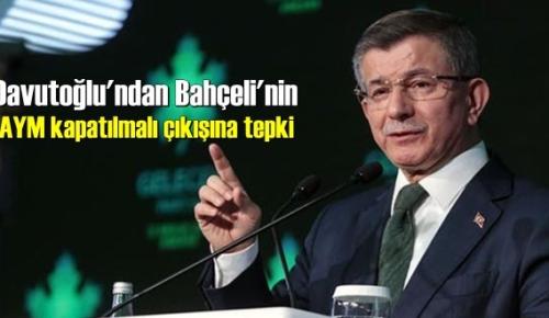 Davutoğlu: Anayasa Mahkemesi demokratik hukuk devletinin asli bir kurumudur!