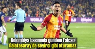 Kolombiya basınında gündem Falcao! Galatasaray'da seyirci gibi oturamaz