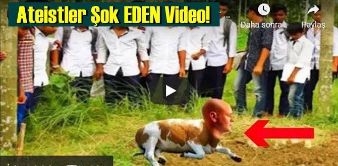 Ateistler Şok EDEN Video!Allah'ın Büyük Kudretini Görün!