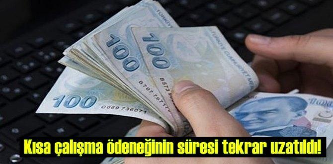 Resmi Gazete'de yayımlandı, Kısa çalışma ödeneği uzatıldı!