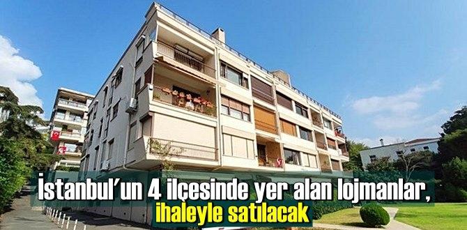 İstanbul'un 4 ilçesinde yer alan lojmanlar, ihaleyle satılacak