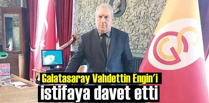 Galatasaray Lisesi Müdürü Vahdettin Engin, istifaya davet edildi!