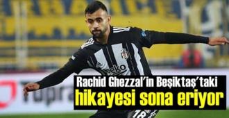 Cezayirli yıldız Rachid Ghezzal'in, Beşiktaş'ta Sezon sonunda yolcu!