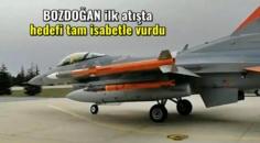 Hava'dan hava füzesi BOZDOĞAN ilk atışı başarıyla test edildi! Hedefini yok etti!