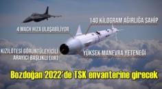 Bozdoğan Füzesi, 2022'de TSK'nın envanterine girecek!