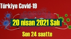 20 nisan 2021 Salı virüs verileri yayınlandı, tablo Ciddi 346 Can kaybı yaşandı!