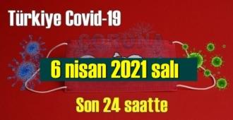 6 nisan 2021 salı virüs verileri yayınlandı, tablo Ciddi 211 Can kaybı yaşandı!