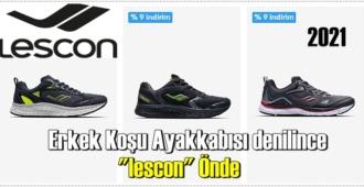 """Erkek Koşu Ayakkabısı denilince """"lescon"""" Önde!"""