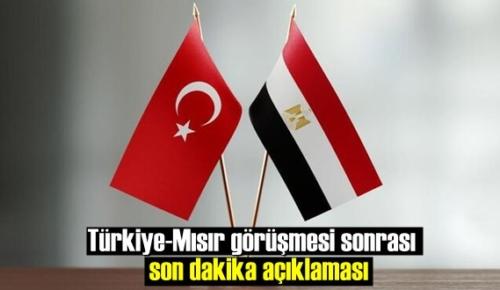 Son Türkiye-Mısır görüşmesi samimi havada gerçekleşti!
