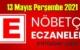 13 Mayıs Perşembe 2021 Nöbetçi Eczane nerede, size en yakın Eczaneler listesi