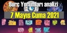 7 Mayıs Cuma 2021/ Günlük Burç Yorumları analizi