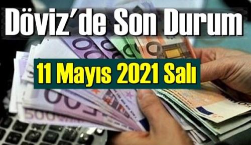 11 Mayıs 2021 Salı Ekonomi'de Döviz piyasası, Döviz güne nasıl başladı