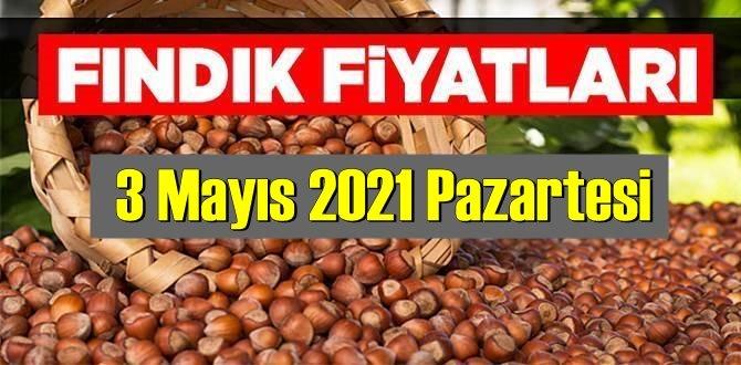 3 Mayıs 2021 Pazartesi Türkiye günlük Fındık fiyatları, Fındık bugüne nasıl başladı