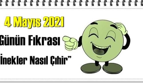 Günün Komik Fıkrası – İnekler Nasıl Çıhir!/ 4 Mayıs 2021