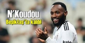 Attığı gollerle adından söz ettiren N'Koudou Beşiktaş'ta kalmayı başardı!