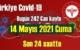 14 Mayıs 2021 Cuma virüs verileri yayınlandı, tablo'da 242 Can kaybı gözüküyor!