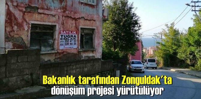 Bakanlık tarafından Zonguldak'ta dönüşüm projesi yürütülüyor
